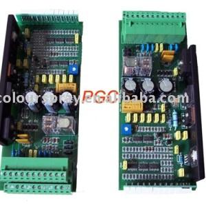 Circuit board for powder coating equipment