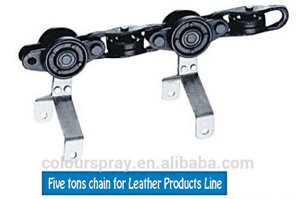 Overhead conveyor hanging chain