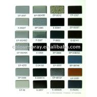 electrostatic powder coating