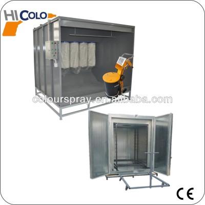 powder spray booth /powder machine /powder sprayer