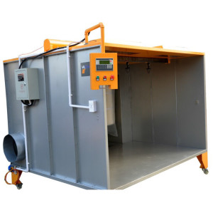 cartridge-filter Manual Powder coating spray booth