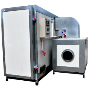 Indirect fired Gas Powder coating oven