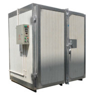Small size electric powder coating oven