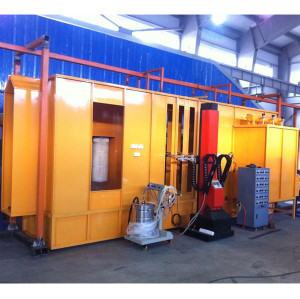 conveyorized powder coating equipment powder coating spray booth