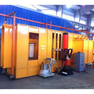 conveyorized powder coating equipment powder coating spray booth