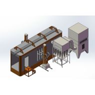 polypropylene Powder Coating Booths & Equipment