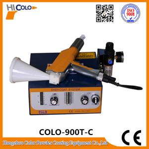 Experimentelle elektrostatischen Pulverbeschichtungsanlage