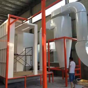 polypropylene Powder Coating Booths