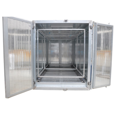 Electrostatic powder coating drying oven