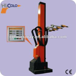 Automatic painting robot reciprocating machine set