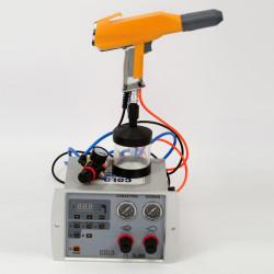 Labor Neue Pulver Handanlage