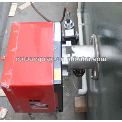 Powder curing oven 40 FS series gas burner