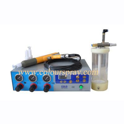 Small handy powder coating spray machine