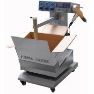 Manual electrostatic vibrating Powder coating machine with best price