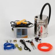 Digital valve small powder coating equipment with 12.5L hopper