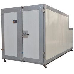 Gas powder coating curing oven