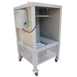 Small Powder Coating Spray Booth