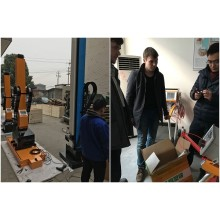 Clients from Europe visit our factory