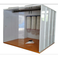 COLO-S-3217 Electrostatic powder painting booth
