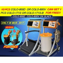 Big Discount Of 800D Powder Coating Machine On March