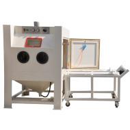 Turntable Sand blasting machine