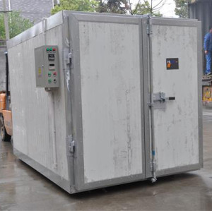 Furniture powder paint coating oven