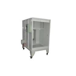 COLO1115 small powder coating booth