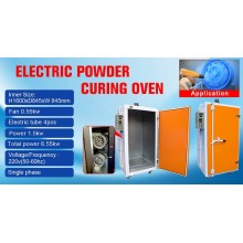 COLO-1688 electric small powder curing oven
