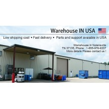 We built a warehouse in USA