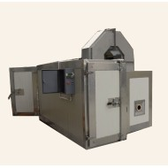 Indirect fired LPG  gas powder coating oven