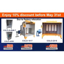 New promotion For powder coating system