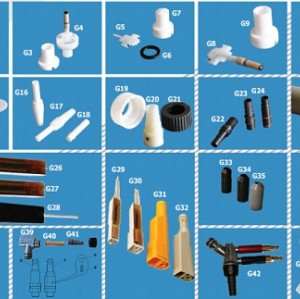 colo powder coating gun spare parts