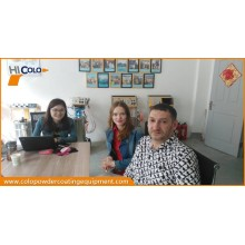Clients from Russia visit our factory