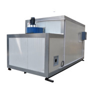 LPG gas fired powder coating oven