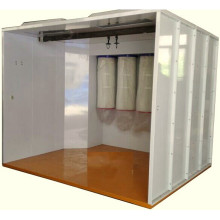 Powder Spray Booth Deliveried to Singapore
