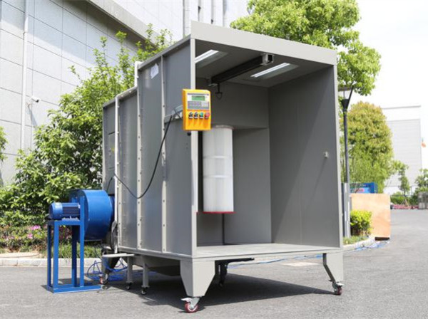 COLO-S-1517 Electrostatic Small Powder Coating Spray Cabin Booth