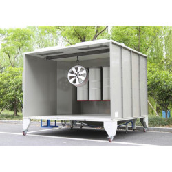 COLO-S-2315 Powder Coating Equipment Small Spray Booth