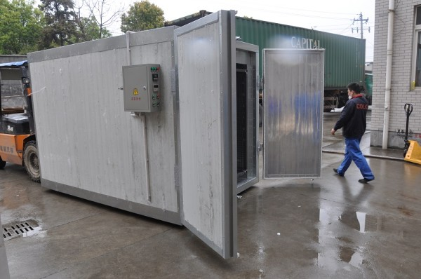 Electric Powder Coating Oven for Curing Aluminum Profile