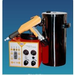 elektrostatische Bschichtungsanlage für Experiment COLO-700 H