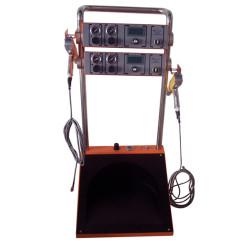 Máquina de recubrimiento en polvo electrostático de sistema dual Colo-500H-2