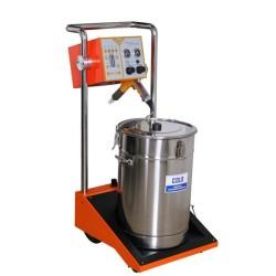 equipo para pintura electrostatica