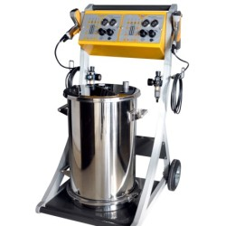 contrller doble electrostática en polvo manual de máquina de pintar(COLO-800-2)