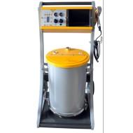 sistema manual de aplicación de polvo