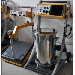 los equipos y de las pinturas electrostaticas en polvo