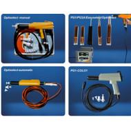 Pistolas y equipo electrostatico manual de polvo