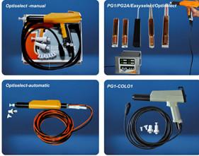 Automatikpistole zur elektrostatischen Pulverlackbeschichtung