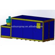 Low consumption Gas Fired Powder Curing Oven