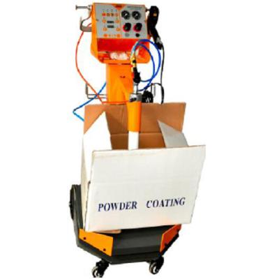 Box feeder Vibrating powder spraying equipment with vibrator