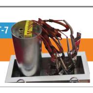Powder curing oven temperature tracker SMT-7