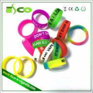 vape band silicone band for mechanical mod 18650 mod vape band silicone ring